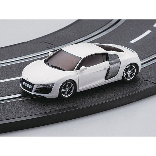 kyosho dslot43 audi r8 blanche slot car union. Black Bedroom Furniture Sets. Home Design Ideas