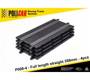 Policar P008-4 Full Length Straight 385mm x4