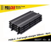 Policar P008-4 Full Length Straight 358mm x4