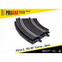 Policar P014-2 R2 45° Curve x2