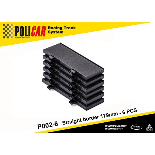 Policar P002-6 Straight Border 179mm x6