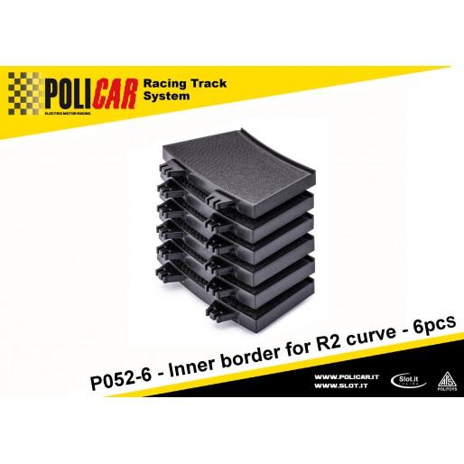 Policar P052-6 Inner Border for R2 Curve x6