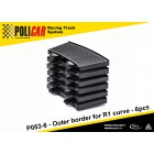 Policar P053-6 Outer Border for R1 Curve x6