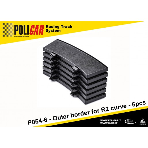 Policar P054-6 Outer Border for R2 Curve x6