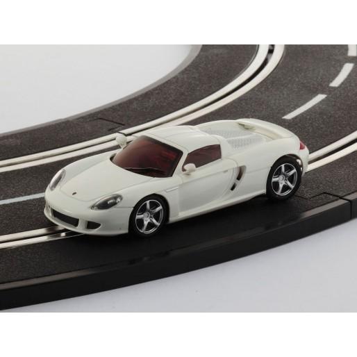 kyosho dslot43 porsche carrera gt blanche slot car union. Black Bedroom Furniture Sets. Home Design Ideas