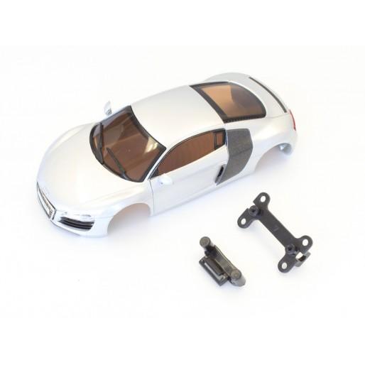 Kyosho Dslot43 Bodyshell set Audi R8 Silver