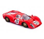 Policar CAR06a Ferrari 330 P4 n.21 2nd Le Mans 1967