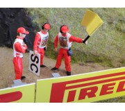 Slot Track Scenics Fig. 13 Marshals Pack C