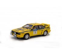 FLY A2003 Audi Quattro A2 - Winner Rally Hong Kong/Beijing 1985 H.MIKKOLA