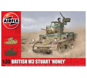 Airfix M3 Stuart, Honey (British Version) 1:35
