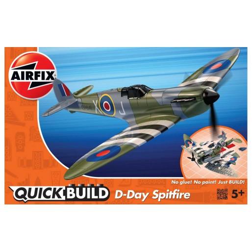 Airfix QUICKBUILD D-Day Spitfire