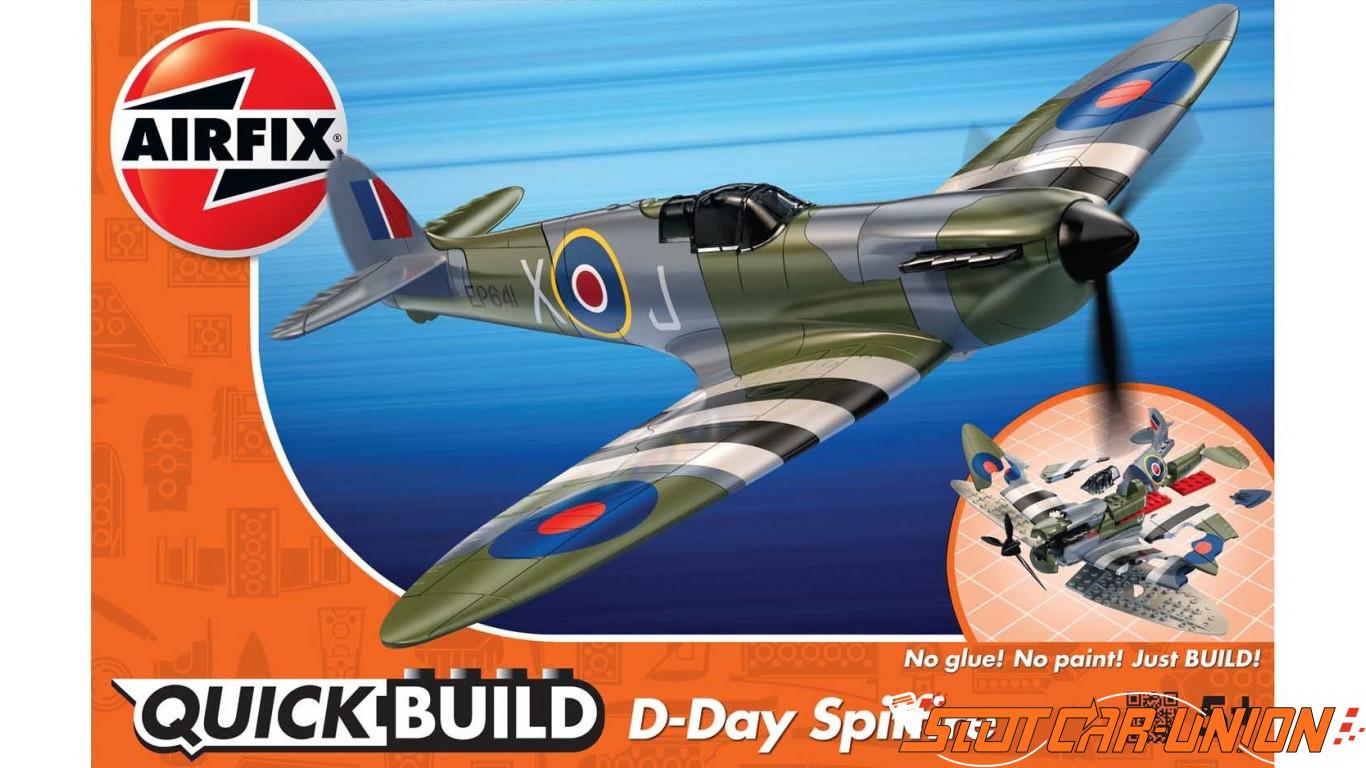Airfix QUICKBUILD D-Day Spitfire - Slot Car-Union