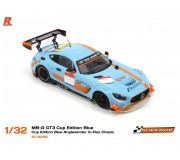 Scaleauto SC-6218C MB-A GT3 Blue - Cup Edition Blue Anglewinder In-Flex Chasis
