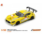 Scaleauto SC-6218G MB-A GT3 Yellow - Cup Edition Yellow Anglewinder In-Flex Chasis