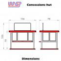 WASP Concessions Hut