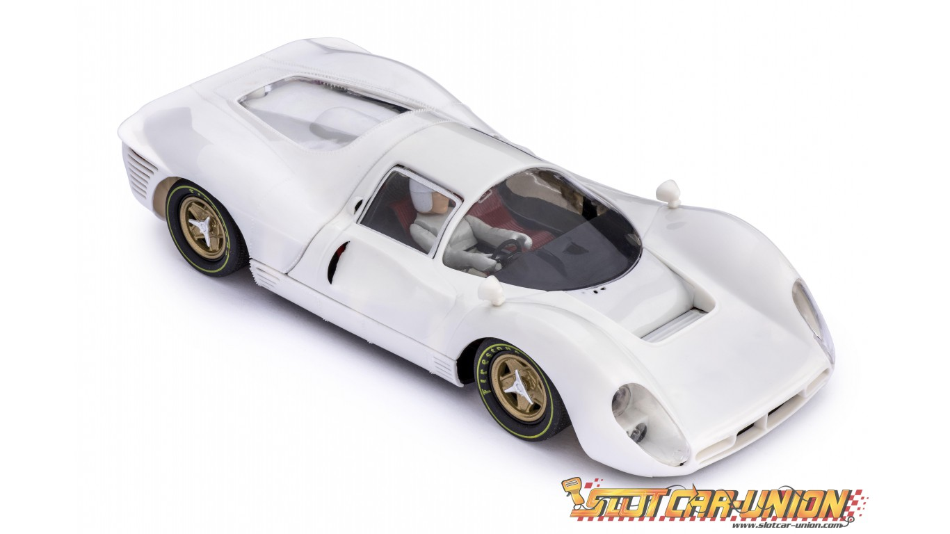 Policar Car06z Ferrari 330 P4 White Kit Slot Car Union