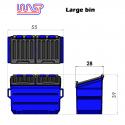 WASP Large bin