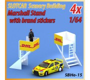 MHS Model SB-15 Marshall Stand x2