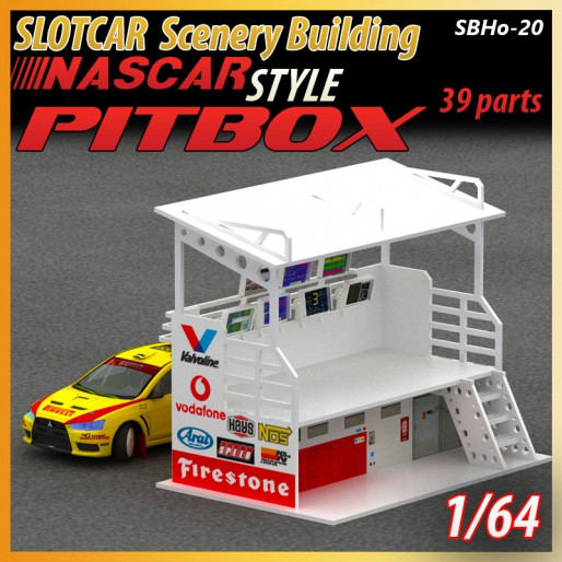 MHS Model SB-20 Race Team & Crew Pitbox