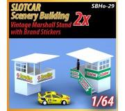 MHS Model SBHo-29 1/64 Marshall Stand Vintage Style (Balcony) x2
