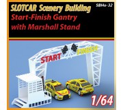 MHS Model SB-32 Start - Finish Gantry & Marshall Stand