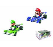 "Pull & Speed Nintendo Mario Kart 8 Twinpack ""Mario + Luigi"""