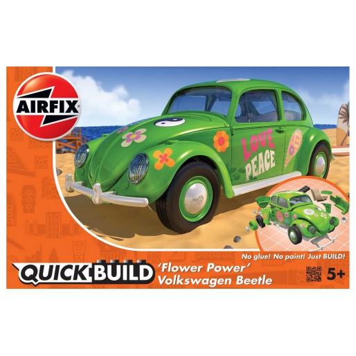 """Airfix QUICKBUILD VW Beetle """"Flower Power"""""""