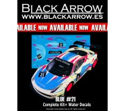 Black Arrow BACMKITU Ferrari GT3 Italia KIT AW BLUE n.21