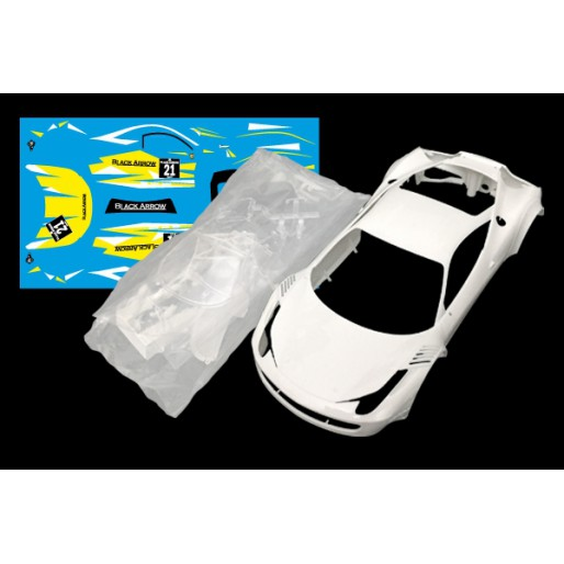 Black Arrow BABC02G Ferrari GT3 Italia Body Kit YELLOW n.21