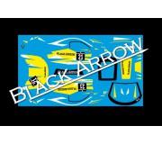 Black Arrow BAWD02E Feuille de Décalcomanie GT3 Italia YELLOW n.21