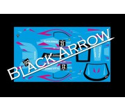 Black Arrow BAWD02F Feuille de Décalcomanie GT3 Italia BLUE n.21