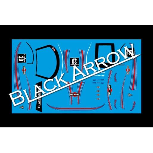 Black Arrow BAWD02G Decal Sheet GT3 Italia MARTINI n.20