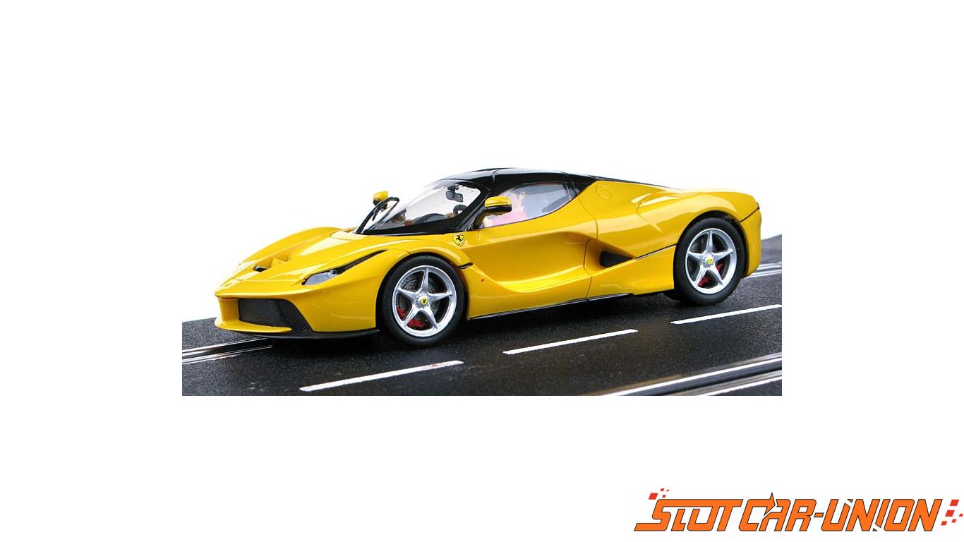 carrera digital 132 30681 laferrari yellow slot car union. Black Bedroom Furniture Sets. Home Design Ideas