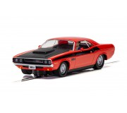 Scalextric C4065 Dodge Challenger - Red & Black