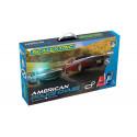 Scalextric C1405 American Police Chase (AMC Javelin Police car v Dodge Challenger) Set