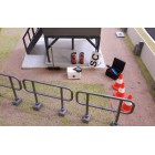 Slot Track Scenics Acc.16 Marshal post accessories