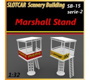 MHS Model SB-15s2 Marshall Stand x2