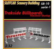 MHS Model SB-10s1 Panneaux de Piste - Firestone-Dunlop