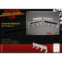 MHS Model SB-10s2 Trackside Billboards - Michelin-Bridgestone