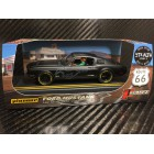 Pioneer P064-GP Mustang Fastback GT STEALTH, Black with Grey Pony, 'Route 66'