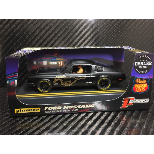 Pioneer P064-DS Mustang Fastback GT STEALTH, Black with Gold Pony, 'Route 66'