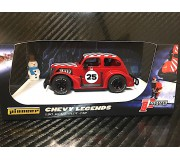 Pioneer P080 Santa Legends Racer '37 Chevy Sedan, Candy Red