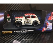 Pioneer P084 Santa Legends Racer '37 Chevy Sedan, Buttermilk White