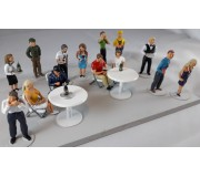 Slot Track Scenics DP 2 Diorama Pack 2 – Hospitality Area
