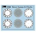 MiniArt 35560 Street Lamps & Clocks