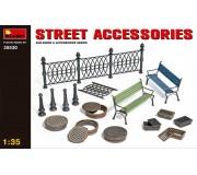 MiniArt 35530 Accessoires de Rue