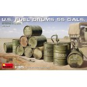 MiniArt 35592 Fûts de Carburant Américains 55 Gallons