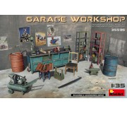 MiniArt 35596 Garage Workshop