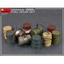 MiniArt 35597 German 200L Fuel Drums WW2