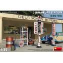MiniArt 35598 Station-Service Allemande 1930-40